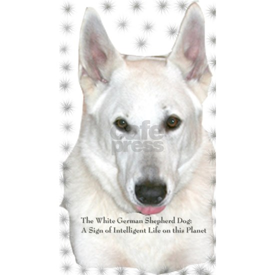 The White German Shepherd Dog - A sign of intellig