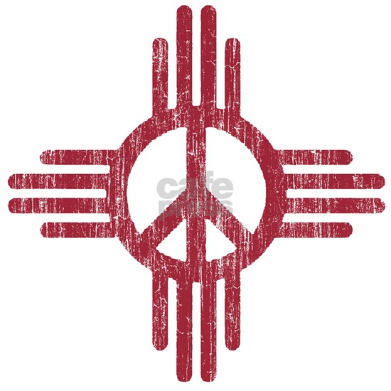 New Mexico Peace Sign