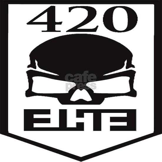 420 elite clan logo Postcards (Package of 8)