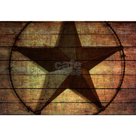 barn wood texas star