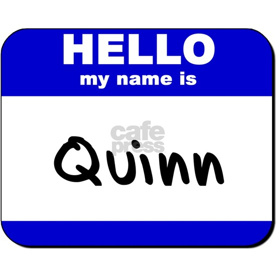 hello my name is quinn Postcards (Package of 8) by ...