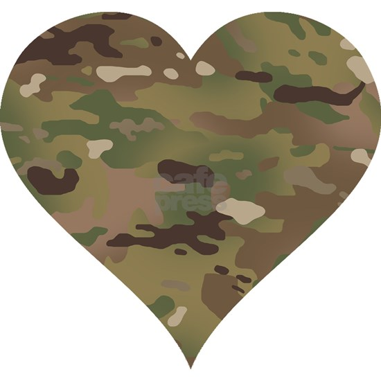 Camouflage Heart