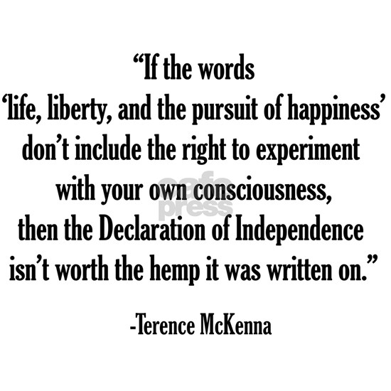 Terence Mckenna Quote Postcards Package Of 8