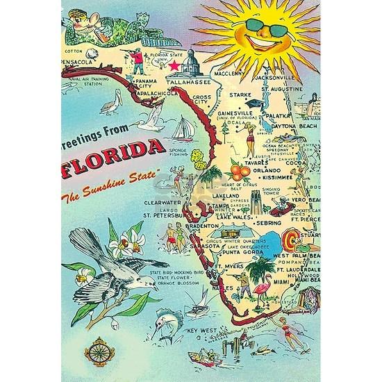 Vintage Greetings from Florida