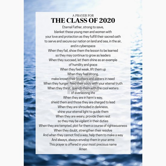 Class of 2020 Prayer
