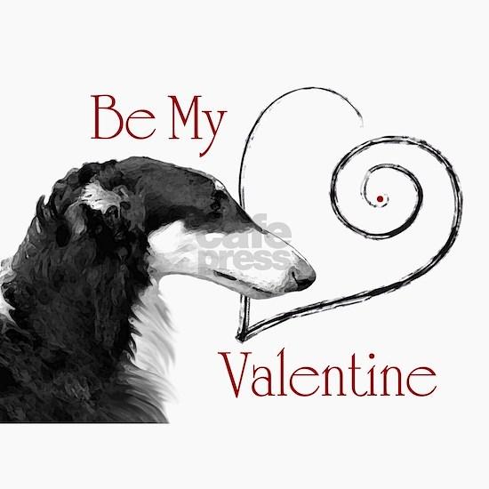 Be Mine Valentine Borzoi