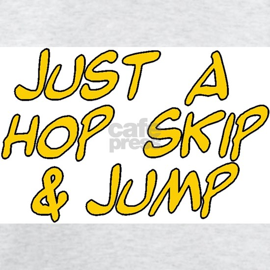 just a hop skip and jump boy yellow