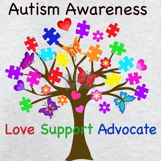 Autism Awareness Tree