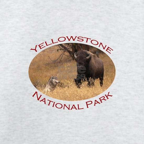 Yellowstone National Park...Bison & Wolf