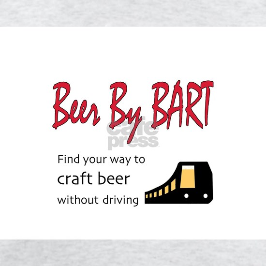 Beer By BART logo w/ beer train