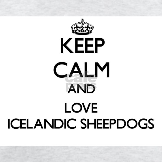 Keep calm and love Icelandic Sheepdogs