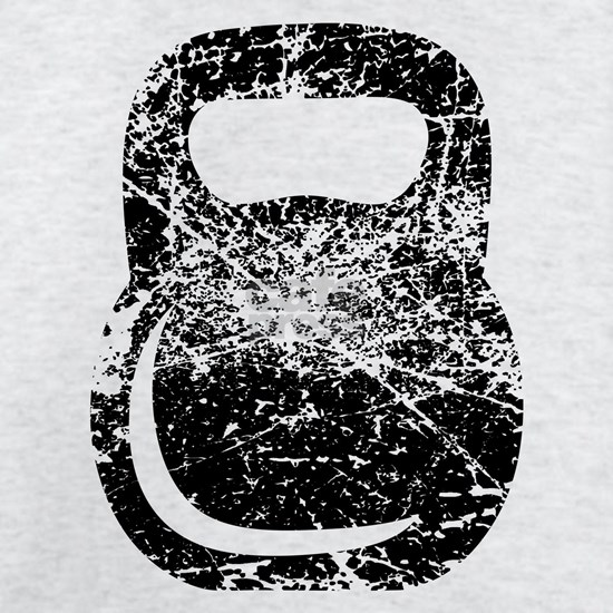 Distressed Kettlebell
