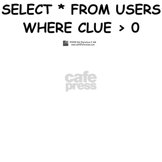 Select from Users a