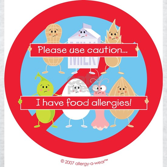 I have food allergies! by allergy-a-wear™
