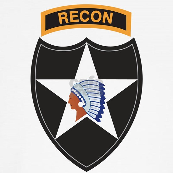 2nd Infantry Division with Recon Tab