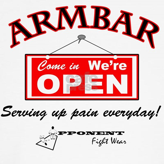 Armbar - we are open