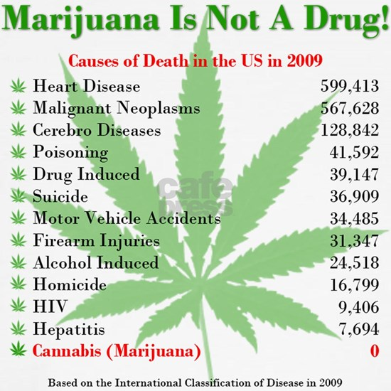Marijuana Death Facts White BG