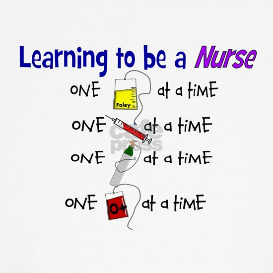 learning to be a nurse