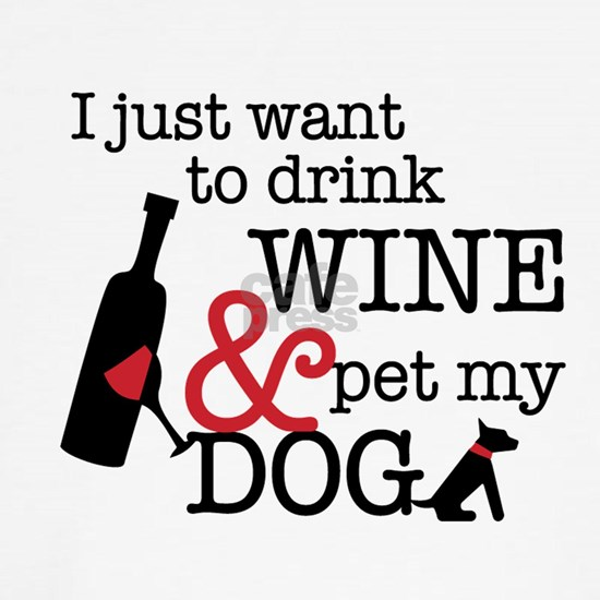 Wine and Dog