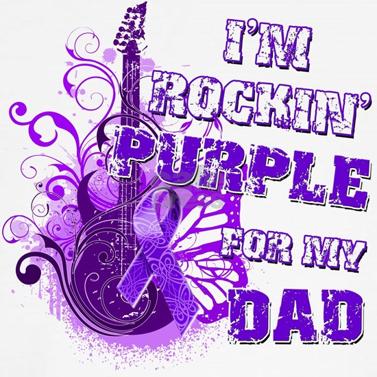 Im Rockin Purple for my Dad