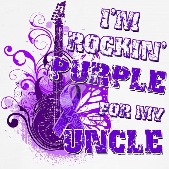 Im Rockin Purple for my Uncle