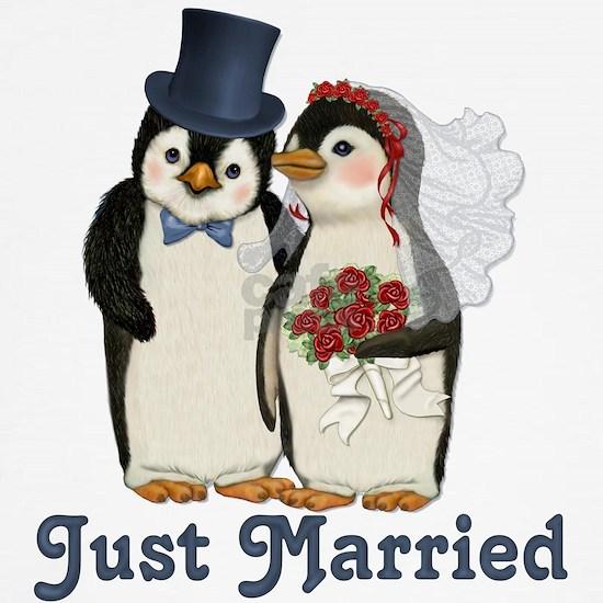 PenguinWedding-JustMarried