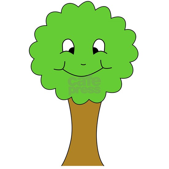 Cartoon Tree With Happy Face 3 X5 Area Rug By Metarla Cafepress Family tree, a diagram on a genealogical tree. cartoon tree with happy face 3 x5 area rug