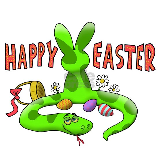 Happy Easter Snake Bunny