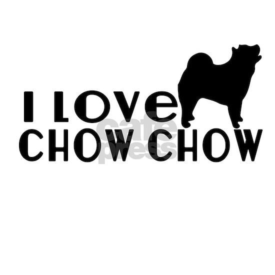 I Love Chow Chow U.S.A State Designs