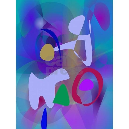 Abstract Abstract Blue Hue