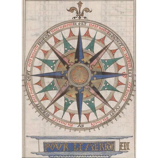 Historical Nautical Compass (1543)