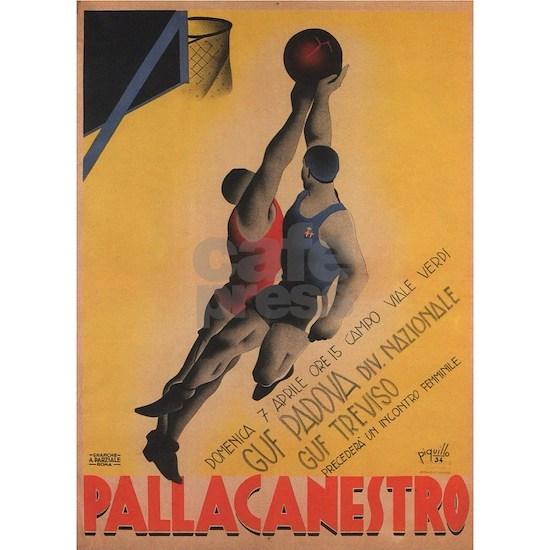 Vintage poster - Pallcanestro