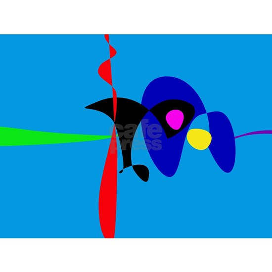 Abstract Expressionism Simple Digital Art