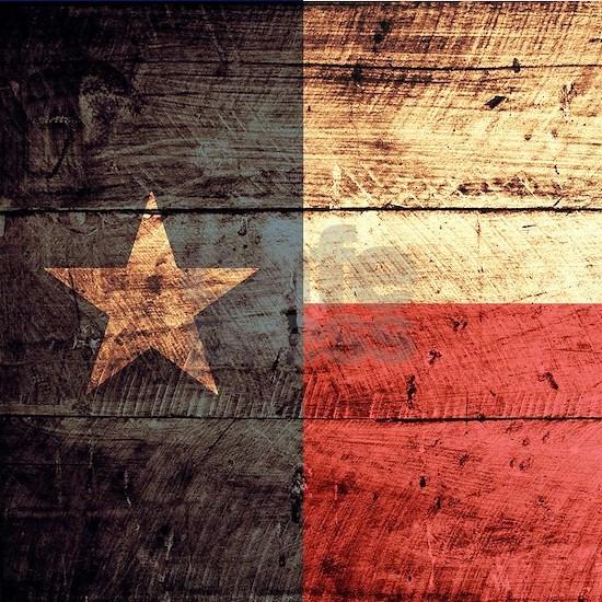 Wooden Texas Flag3