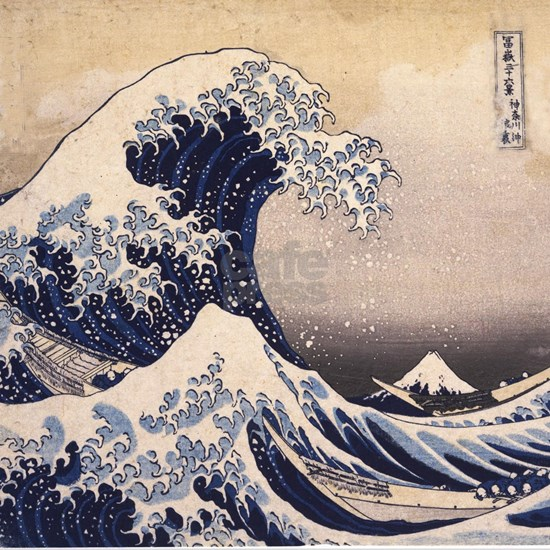 Great Wave by Hokusai