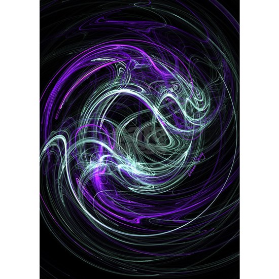 Light Within, Abstract Swirls