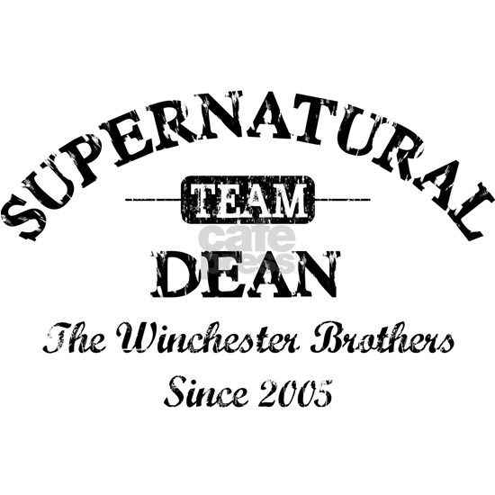 SUPERNATURAL Team DEAN black