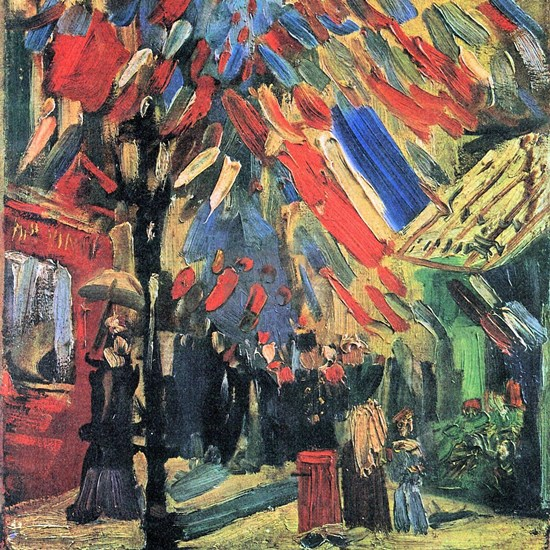 Van Gogh 14 July in Paris