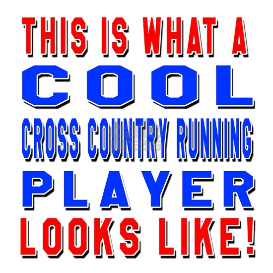 Cross Country Running Player Looks Like