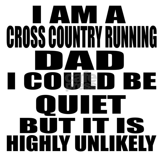 I Am A Cross Country Running Sports Designs