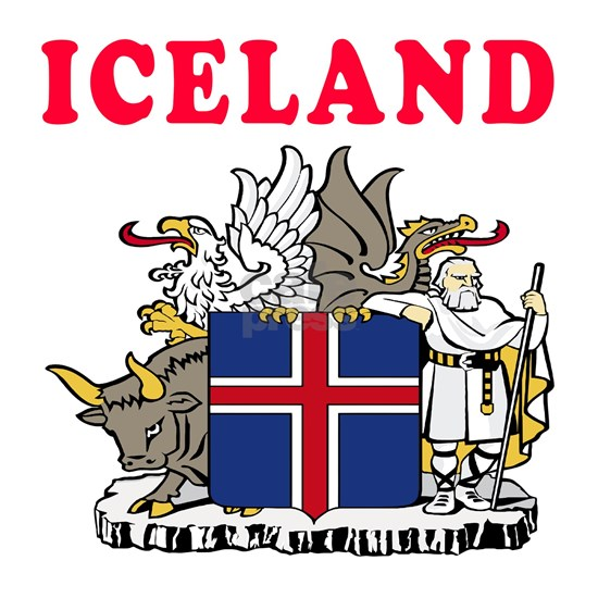 Iceland Coat Of Arms Designs