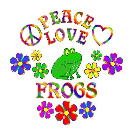 Peace Love Frogs