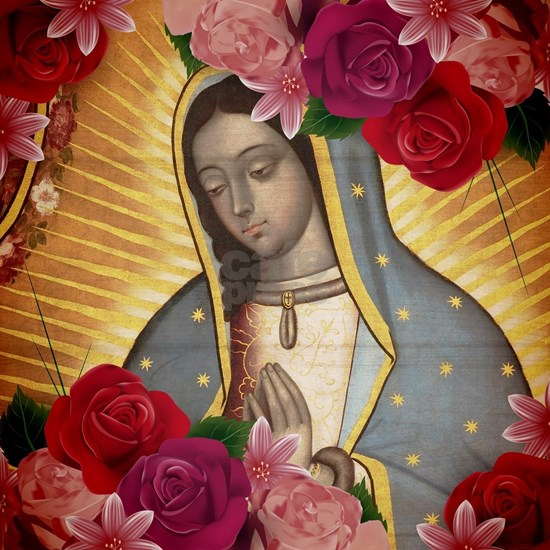 Virgin of Guadalupe with Roses