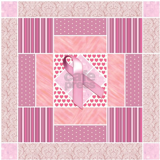 Pink Tribute to Breast Cancer Survivors Patchwork