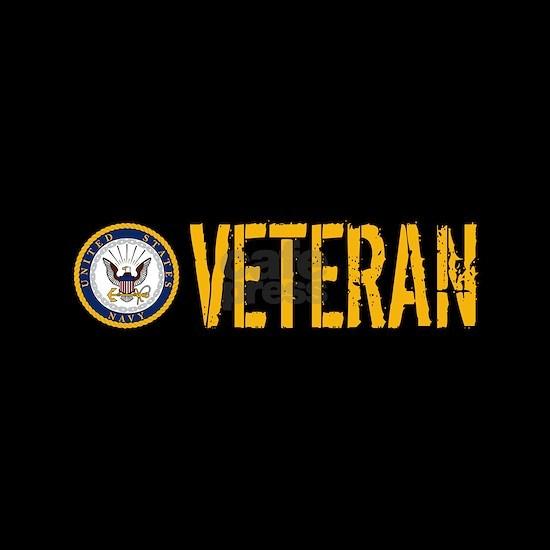 U.S. Navy: Veteran (Black)