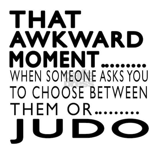 judo Awkward Moment Designs