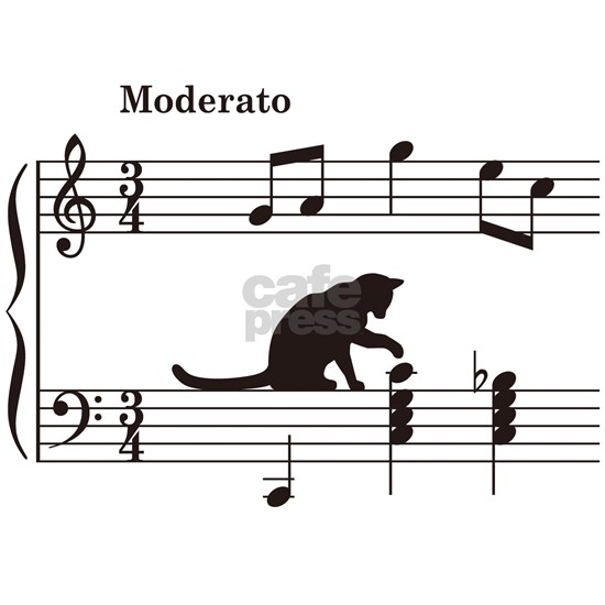 Cat Toying with Note v.2