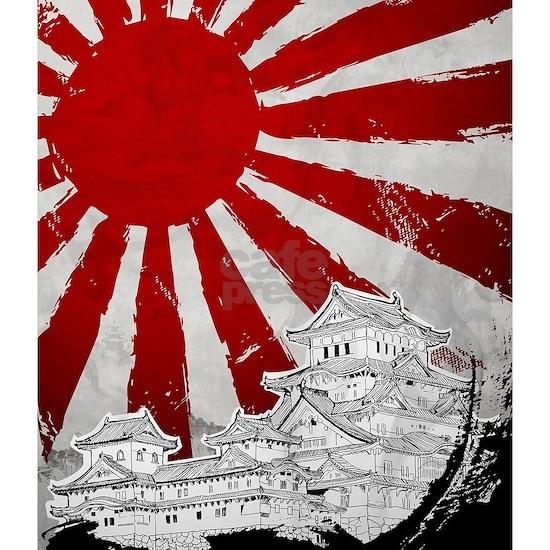 Japanese Palace and Sun