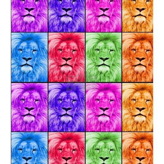 Lion In Colour