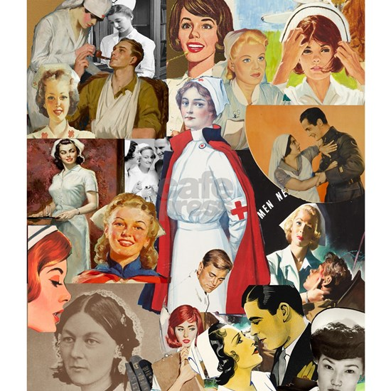 nurse collage poster